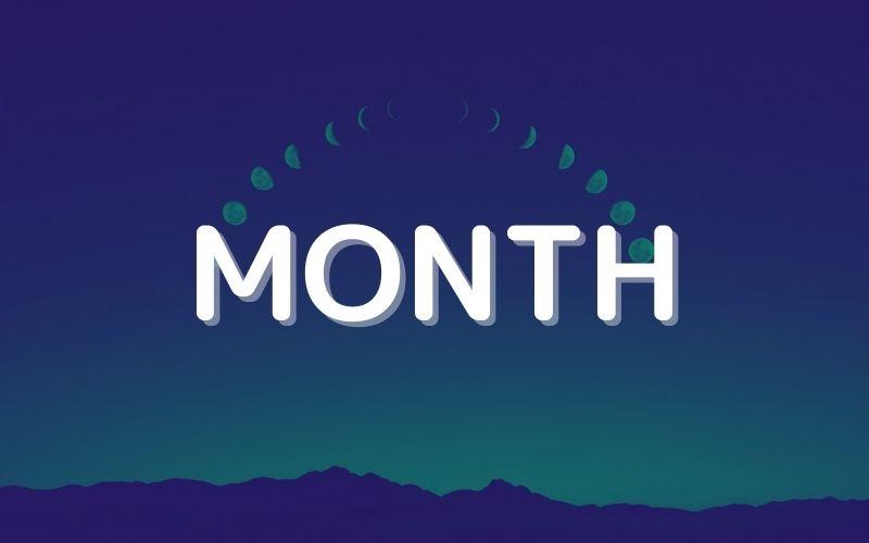 MONTH関数で月を取り出す使い方